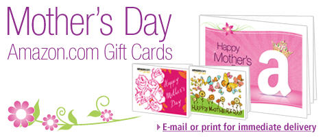 Mother's Day Amazon Gift Card